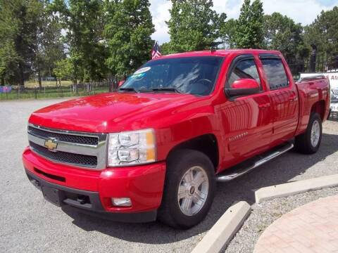 2010 Chevrolet Silverado 1500 for sale at US PAWN AND LOAN in Austin AR