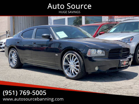 2007 Dodge Charger for sale at Auto Source in Banning CA
