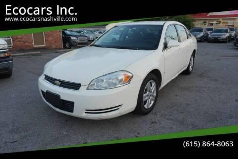 2008 Chevrolet Impala for sale at Ecocars Inc. in Nashville TN