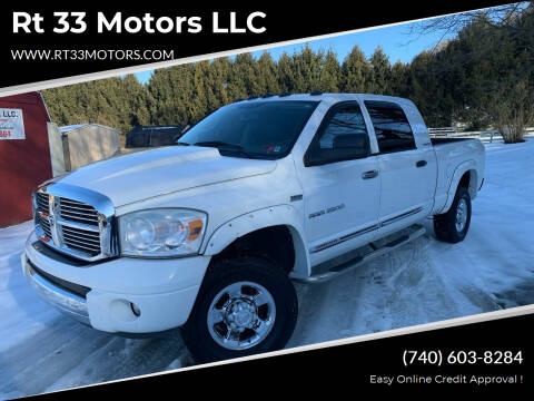 2006 Dodge Ram Pickup 2500 for sale at Rt 33 Motors LLC in Rockbridge OH