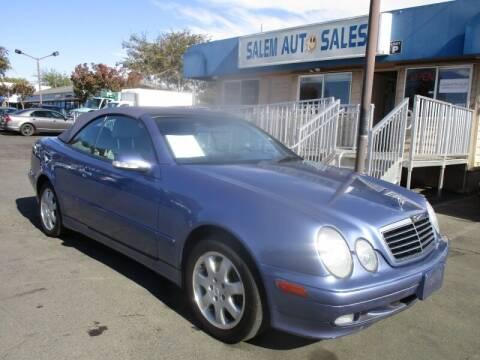 2000 Mercedes-Benz CLK for sale at Salem Auto Sales in Sacramento CA