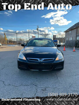 2007 Honda Accord for sale at Top End Auto in North Atteboro MA