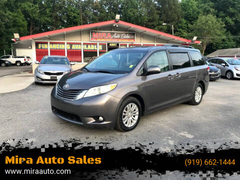 2011 Toyota Sienna for sale at Mira Auto Sales in Raleigh NC
