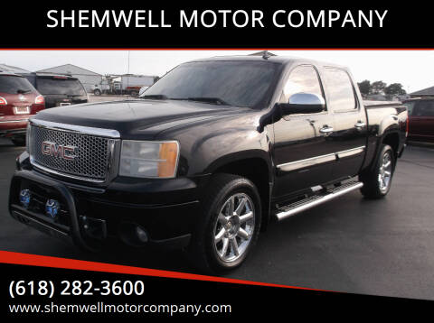 2009 GMC Sierra 1500 for sale at SHEMWELL MOTOR COMPANY in Red Bud IL