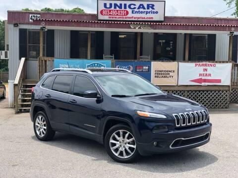 2014 Jeep Cherokee for sale at Unicar Enterprise in Lexington SC