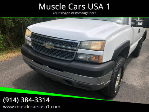 2005 Chevrolet Silverado 2500HD for sale at Muscle Cars USA 1 in Murrells Inlet SC