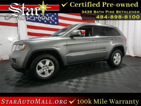 2013 Jeep Grand Cherokee for sale at STAR AUTO MALL 512 in Bethlehem PA
