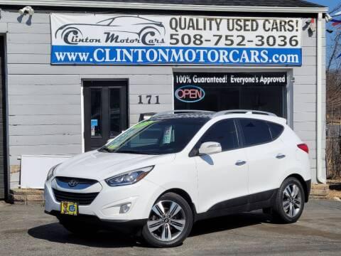 2015 Hyundai Tucson for sale at Clinton MotorCars in Shrewsbury MA