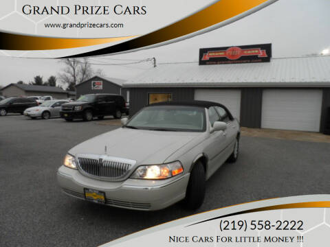 2006 Lincoln Town Car for sale at Grand Prize Cars in Cedar Lake IN