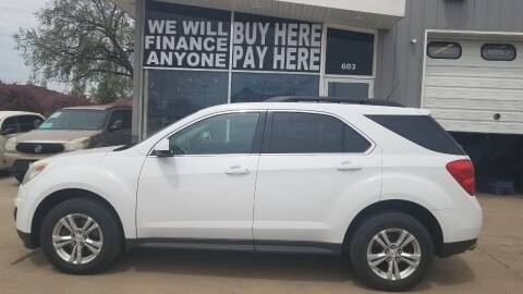2013 Chevrolet Equinox for sale at STERLING MOTORS in Watertown SD