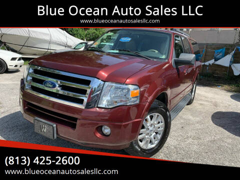 2012 Ford Expedition EL for sale at Blue Ocean Auto Sales LLC in Tampa FL