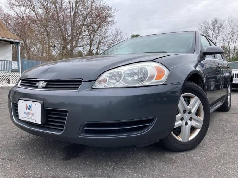 2010 Chevrolet Impala for sale at Mega Motors in West Bridgewater MA