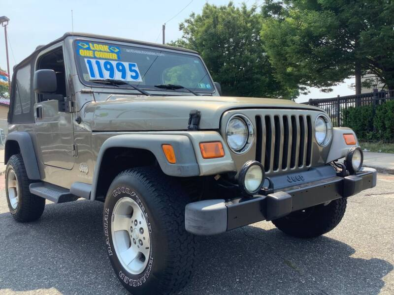2003 Jeep Wrangler for sale at Active Auto Sales Inc in Philadelphia PA