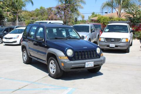 2006 Jeep Liberty for sale at Car 1234 inc in El Cajon CA