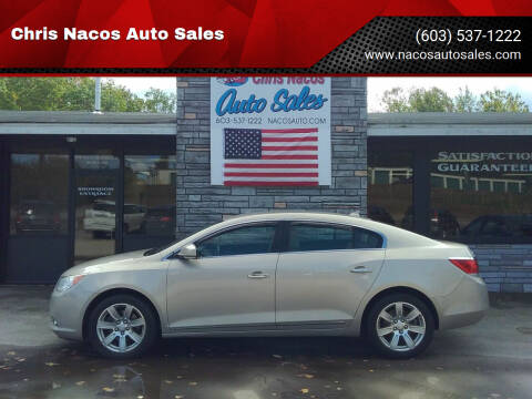 2011 Buick LaCrosse for sale at Chris Nacos Auto Sales in Derry NH