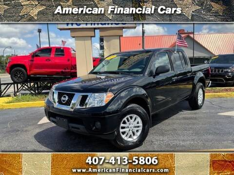 2019 Nissan Frontier for sale at American Financial Cars in Orlando FL