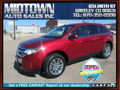 2013 Ford Edge for sale at MIDTOWN AUTO SALES INC in Greeley CO