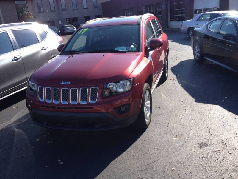 2017 Jeep Compass for sale at Maffei Auto Sales INC. in Kingston PA