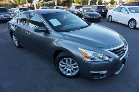 2015 Nissan Altima for sale at Industry Motors in Sacramento CA