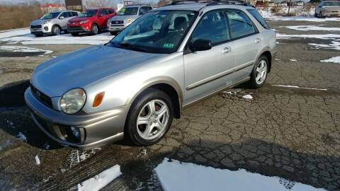 2002 Subaru Impreza for sale at AutoBoss PRE-OWNED SALES in Saint Clairsville OH