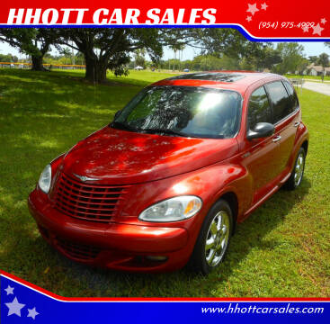 2003 Chrysler PT Cruiser for sale at HHOTT CAR SALES in Deerfield Beach FL