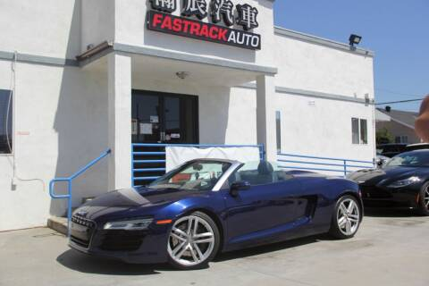 2014 Audi R8 for sale at Fastrack Auto Inc in Rosemead CA