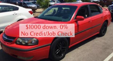 2003 Chevrolet Impala for sale at D & J AUTO EXCHANGE in Columbus IN