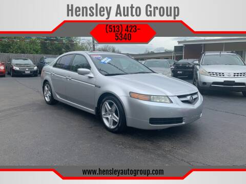 2006 Acura TL for sale at Hensley Auto Group in Middletown OH
