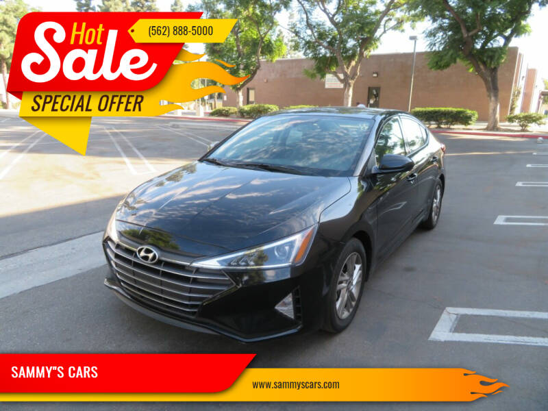 "2019 Hyundai Elantra for sale at SAMMY""S CARS in Bellflower CA"