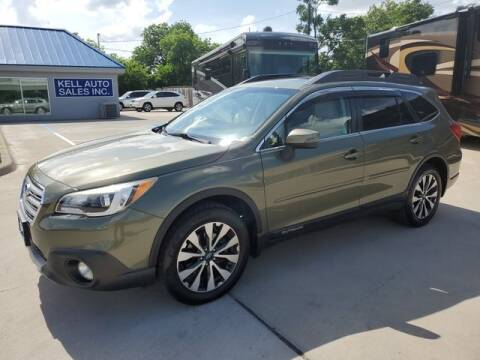 2015 Subaru Outback for sale at Kell Auto Sales, Inc in Wichita Falls TX