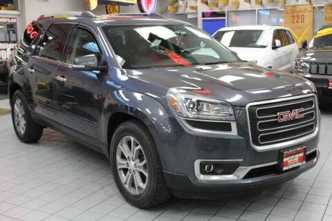 2014 GMC Acadia for sale at Windy City Motors in Chicago IL