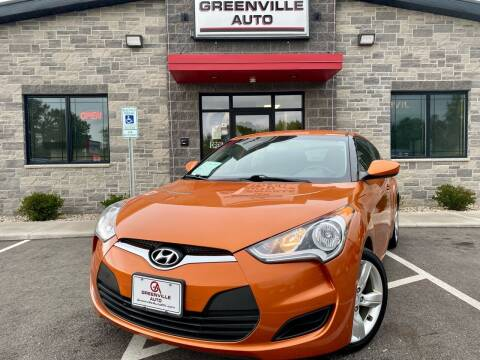 2015 Hyundai Veloster for sale at GREENVILLE AUTO in Greenville WI