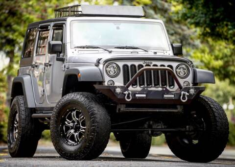 2015 Jeep Wrangler Unlimited for sale at MS Motors in Portland OR
