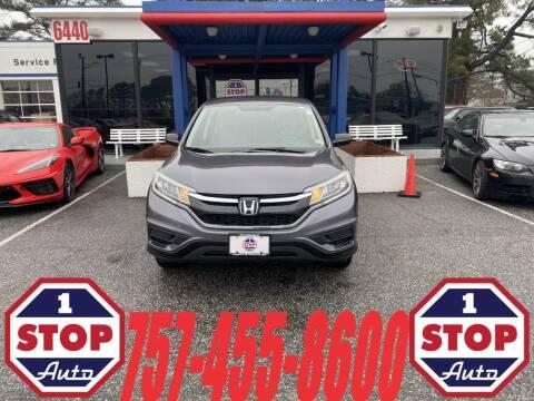 2015 Honda CR-V for sale at 1 Stop Auto in Norfolk VA