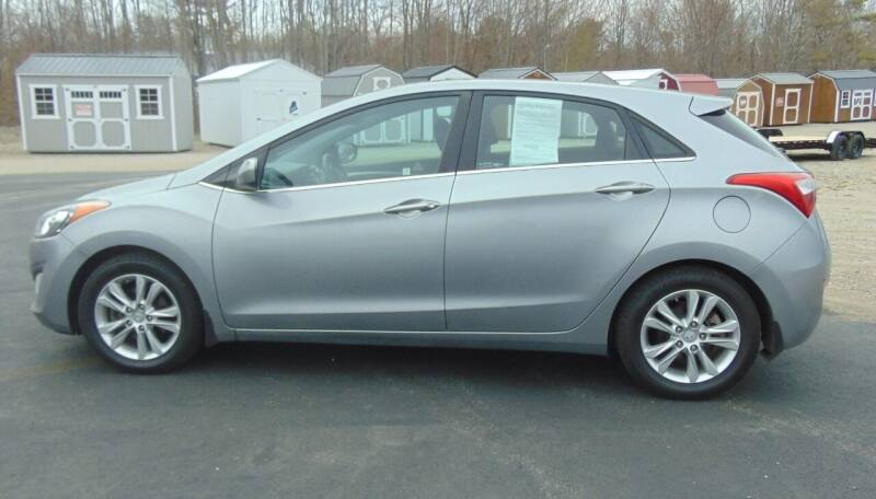 2013 Hyundai Elantra GT for sale at Greg's Auto Sales in Searsport ME