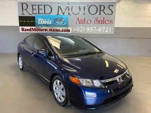 2008 Honda Civic for sale at REED MOTORS LLC in Phoenix AZ