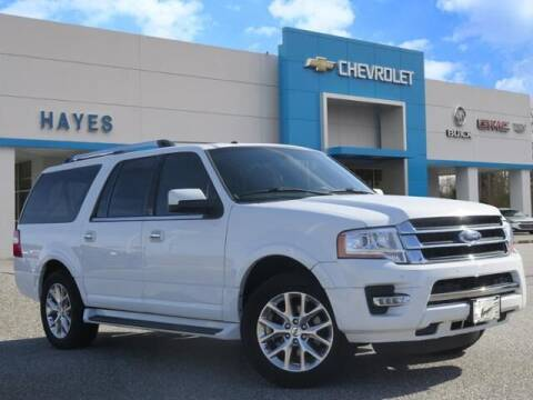 2017 Ford Expedition EL for sale at HAYES CHEVROLET Buick GMC Cadillac Inc in Alto GA