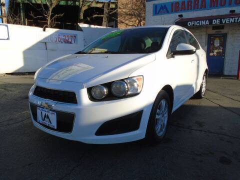 2014 Chevrolet Sonic for sale at IBARRA MOTORS INC in Cicero IL