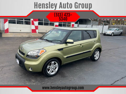 2011 Kia Soul for sale at Hensley Auto Group in Middletown OH