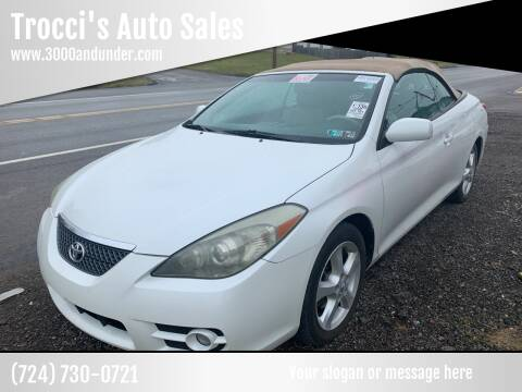 2008 Toyota Camry Solara for sale at Trocci's Auto Sales in West Pittsburg PA