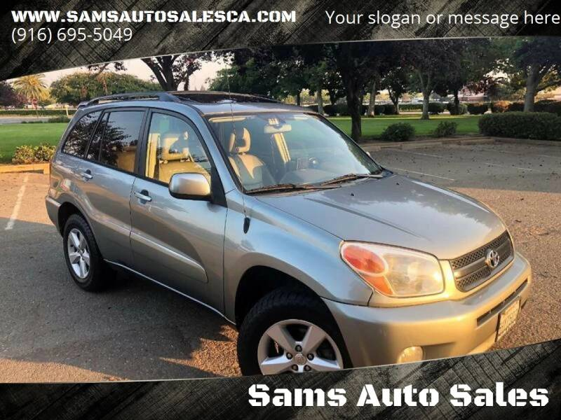 2004 Toyota RAV4 for sale at Sams Auto Sales in North Highlands CA