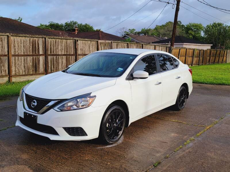 2019 Nissan Sentra for sale at MOTORSPORTS IMPORTS in Houston TX