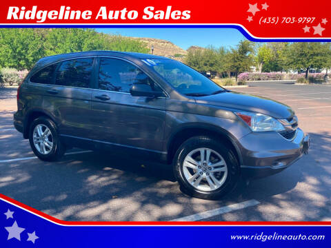2010 Honda CR-V for sale at Ridgeline Auto Sales in Saint George UT