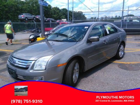 2009 Ford Fusion for sale at Plymouthe Motors in Leominster MA