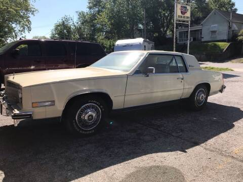 1984 Cadillac Eldorado for sale at Schlotzhauer Auto in Gravois Mills MO
