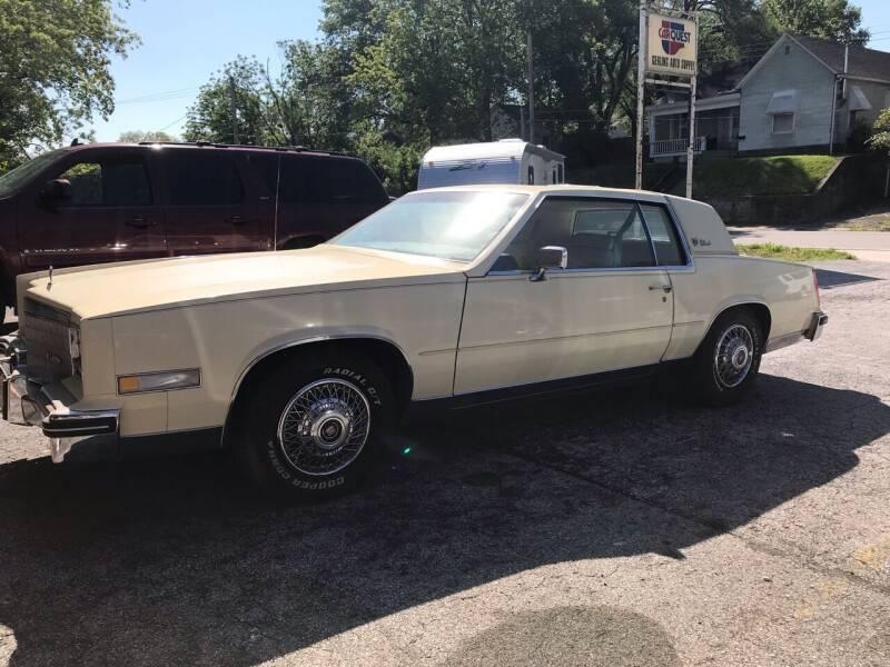 1984 Cadillac Eldorado for sale at Schlotzhauer Auto in Gravois Mills MO