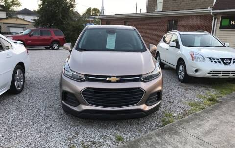 2018 Chevrolet Trax for sale at ADKINS PRE OWNED CARS LLC in Kenova WV
