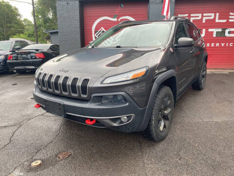 2014 Jeep Cherokee for sale at Apple Auto Sales Inc in Camillus NY