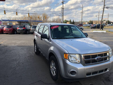 2011 Ford Escape for sale at Drive Max Auto Sales in Warren MI