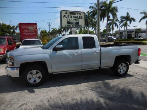 2016 Chevrolet Silverado 1500 for sale at Aubrey's Auto Sales in Delray Beach FL